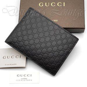NIB GUCCI MicroGuccissima GG Dark Brown Wallet
